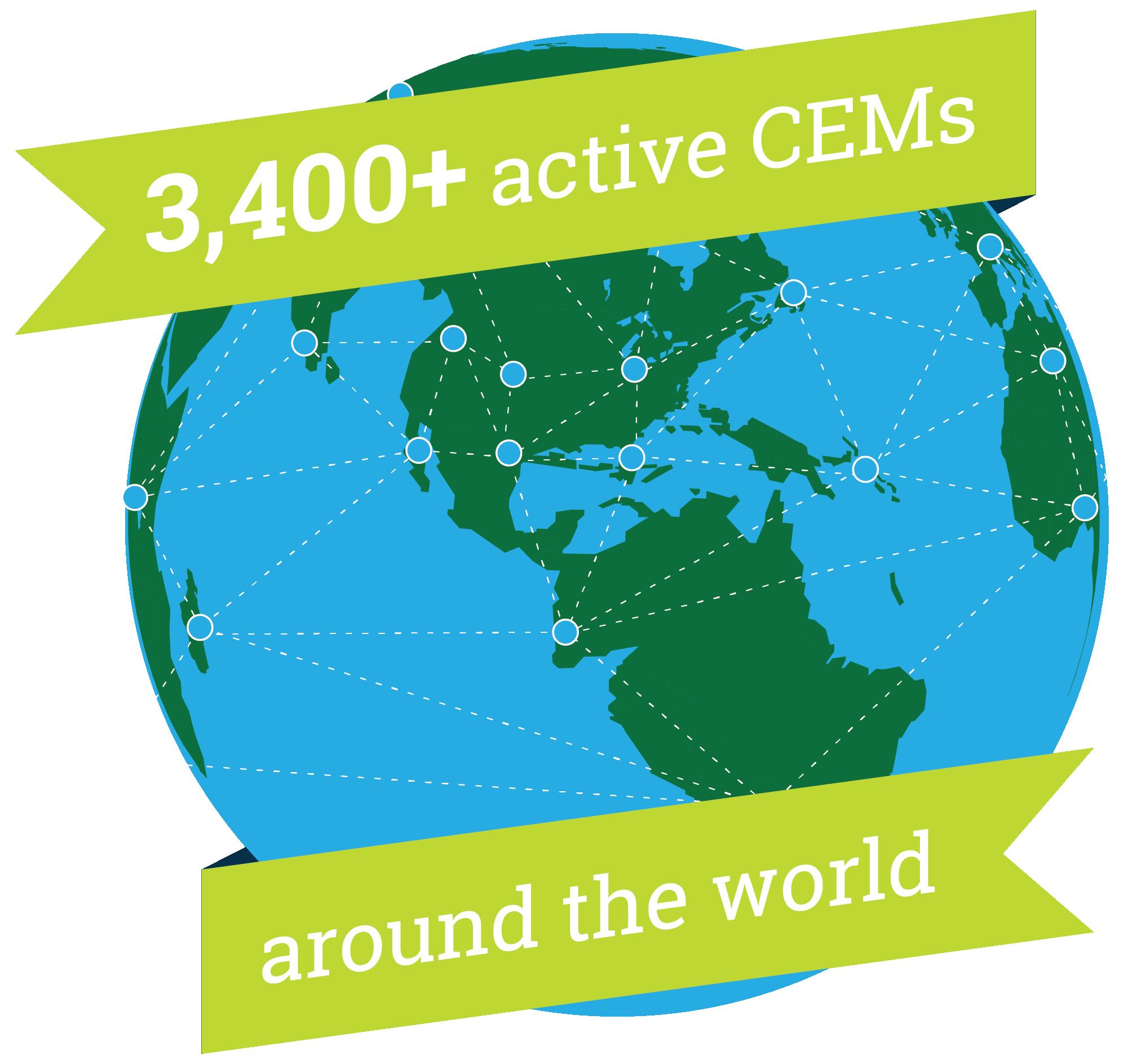 Active CEMS Around the World